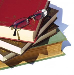 image of study books for hypnotherapy for study