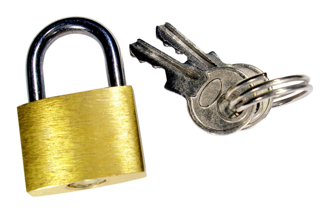 image of lock and key for privacy policy for penny mayhew